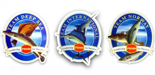 Penn Team Aufkleber