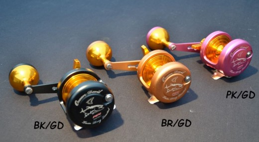 JM Ocean Devil PE 4 Twin Drag Linkshand Modelle