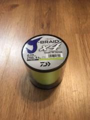 Daiwa J-Braid 4-fach gelb