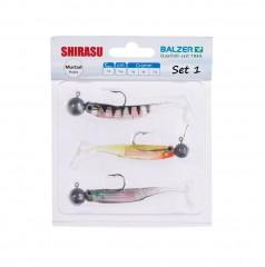 Shirasu Holo Yoko Shad Set